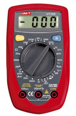 Multimetro UNI-T UT33D